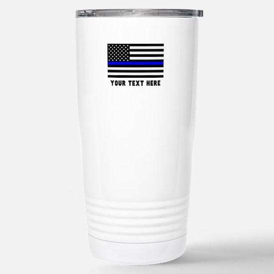 Thin Blue Line Fl Travel Mug