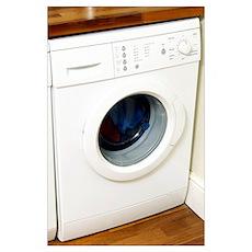 Domestic washing machine Poster