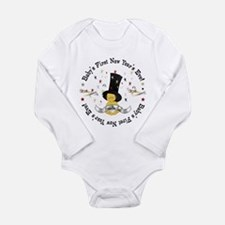 Baby's 1st New Year Long Sleeve Infant Bodysuit