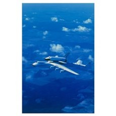 Russian shuttle Buran Poster
