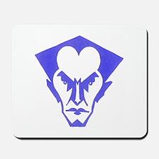 Bat Logo (blue) Mousepad