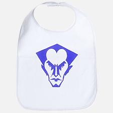 Bat Logo (blue) Bib