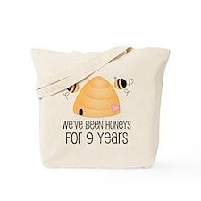 9th Anniversary Honey Tote Bag