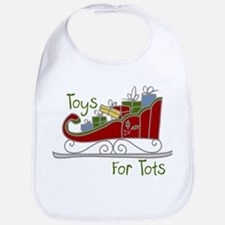 Toys for Tots Sleigh Bib