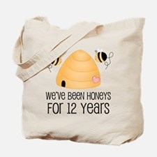 12th Anniversary Honey Tote Bag