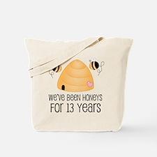 13th Anniversary Honey Tote Bag
