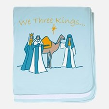 We Three Kings baby blanket