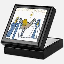 We Three Kings Keepsake Box