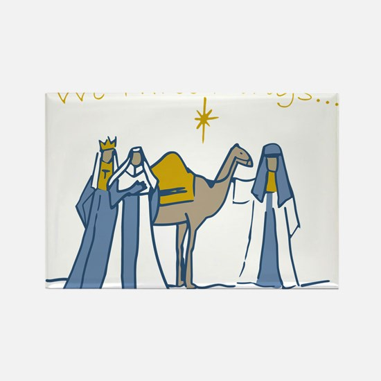 We Three Kings Rectangle Magnet