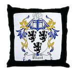 Vilant Coat of Arms Throw Pillow