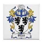 Vilant Coat of Arms Tile Coaster