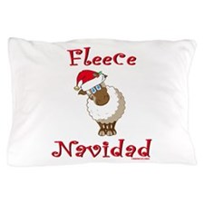 Fleece Navidad Pillow Case