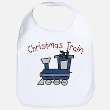 Christmas Train Bib