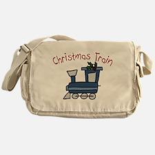 Christmas Train Messenger Bag