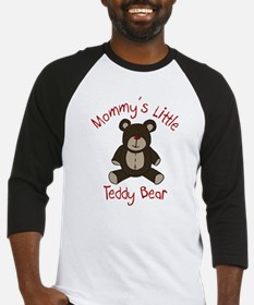 Mommys Teddy Bear Baseball Jersey