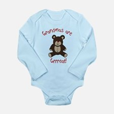 Grandma Teddy Bear Baby Suit