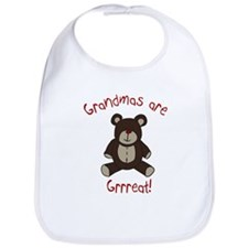 Grandma Teddy Bear Bib