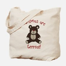 Grandma Teddy Bear Tote Bag