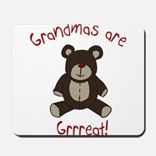 Grandma Teddy Bear Mousepad