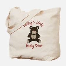 Daddys Teddy Bear Tote Bag