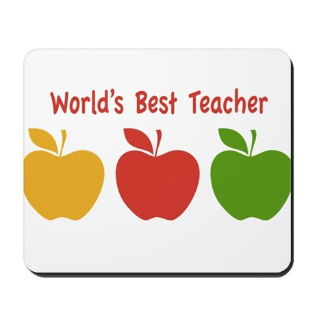 Apple ABC Back To School Mousepad