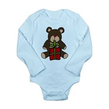 Christmas Teddy Bear Gift Baby Suit