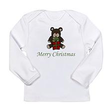 Christmas Bear Long Sleeve Infant T-Shirt