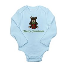Christmas Bear Baby Suit