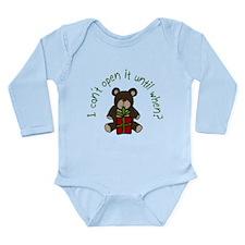 Open It When? Baby Suit