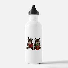 Christmas Bears Water Bottle