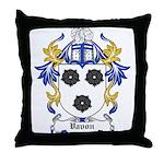 Vavon Coat of Arms Throw Pillow