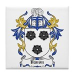 Vavon Coat of Arms Tile Coaster