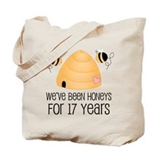 17th Anniversary Honey Tote Bag