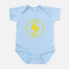 Vintage Retro Lightning Bolt Infant Bodysuit