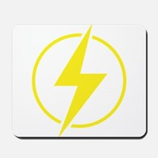 Vintage Retro Lightning Bolt Mousepad