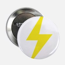 "Vintage Retro Lightning Bolt 2.25"" Button"