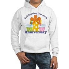 47th Anniversary Party Gift Hoodie