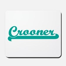 Vintage Crooner Design Mousepad