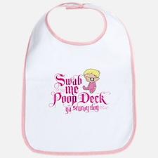 Swab Me Poop Deck Ya Scurvy Dog Bib