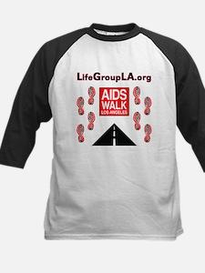 The Life Group LA - AIDS Walk Kids Baseball Jersey