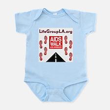 The Life Group LA - AIDS Walk Infant Bodysuit