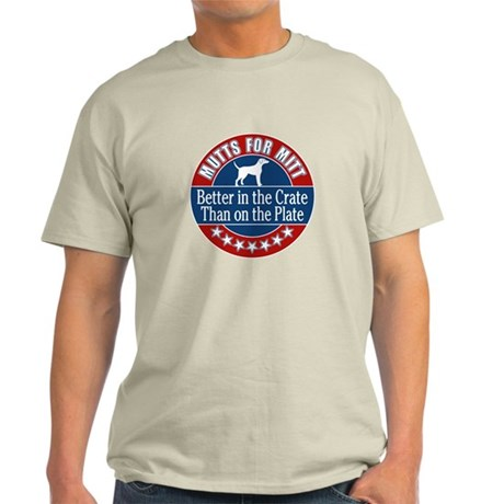 MUTTS FOR MITT - funny T-Shirt