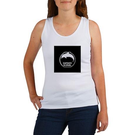 anticap sticker Women's Tank Top