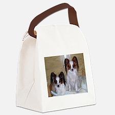 Papillions! Canvas Lunch Bag