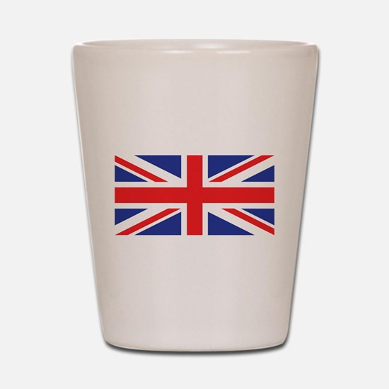 United Kingdom Union Jack Shot Glass