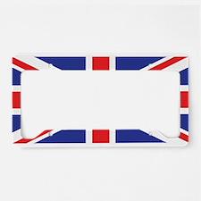 United Kingdom Union Jack License Plate Holder