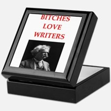 writer joke Keepsake Box