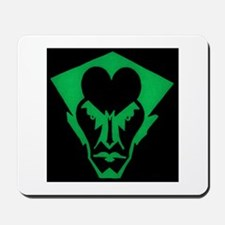 Bat (green/black) Mousepad