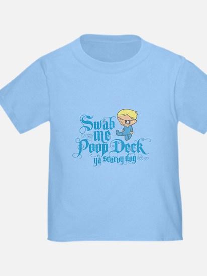 Swab Me Poop Deck Ya Scurvy Dog T
