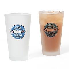 Long Island Curling Club Drinking Glass